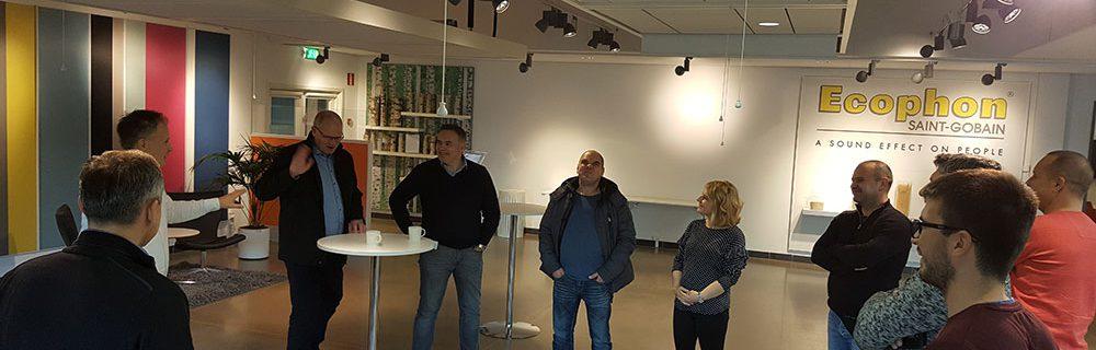 Posjet tvornici ECOPHON Saint Gobain – Švedska